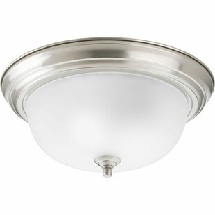Charlton Home Rexroad 2-Light Flush Mount