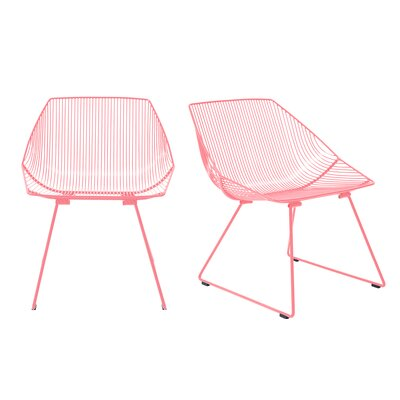 Miraculous Bunny Special Edition Patio Chair Bend Goods Frame Color Pink Creativecarmelina Interior Chair Design Creativecarmelinacom