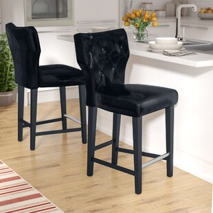 Laughing Sun 25 Bar Stool (Set of 2) Red Barrel Studio