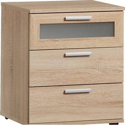 Nachttisch Ahart | Schlafzimmer > Nachttische | Metall - Aluminium - Holz - Holzwerkstoff | 17 Stories