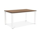 Pauletta Solid Wood Dining Table by 17 Stories