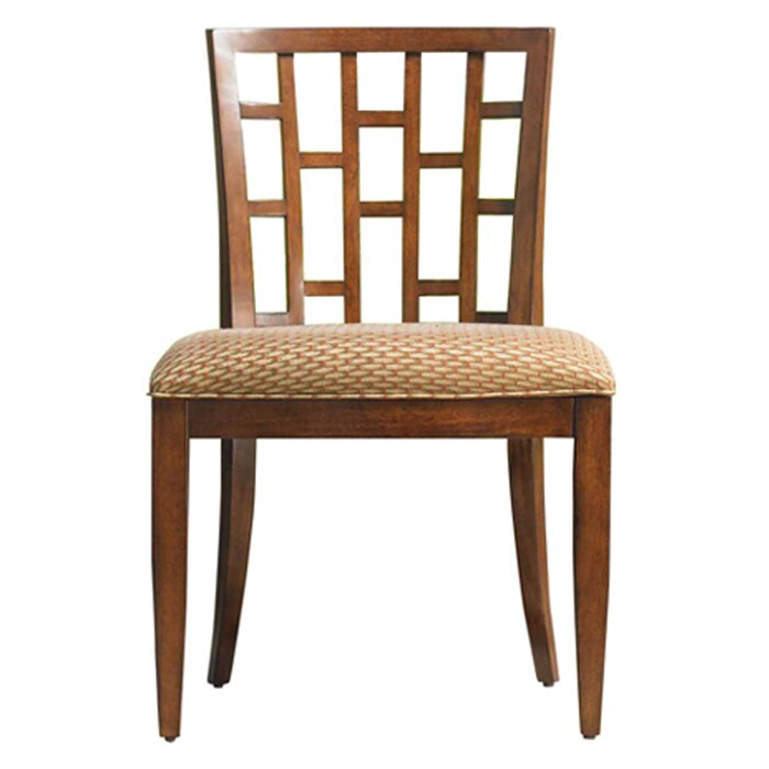 Ocean Club Lanai Solid Wood Dining Chair By Tommy Bahama