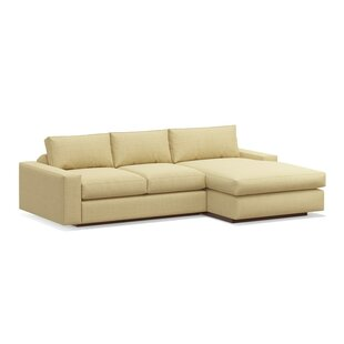 Shop Jackson 114 Sofa with Chaise by TrueModern