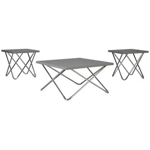 Pickering Dashard 3 Piece Coffee Table Set