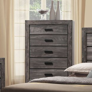 Union Rustic Raven 5 Drawer Chest