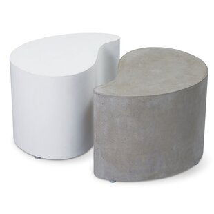 Seasonal Living Perpetual Paired Concrete Side Table