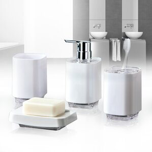 irma 4piece bathroom accessory set