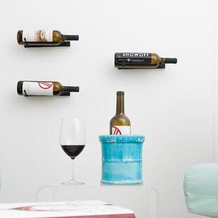VintageView 1 Bottle Metal Wall Mounted Wine Rack