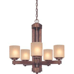 Dolan Designs Sherwood 5-Light Shaded Chandelier