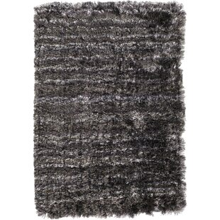 Buying Halsted Black Area Rug By Wrought Studio