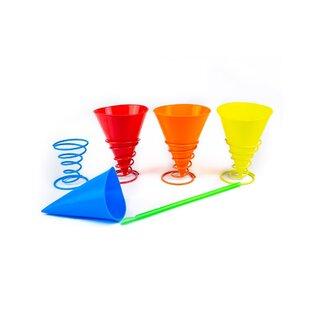 32 Piece Silicone Snow Cone Cup Set