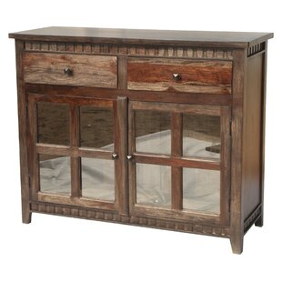 Mortenson 2 Drawer 2 Door Sideboard Loon Peak