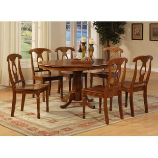 Stella 7 Piece Extendable Dining Set by Darby Home Co Comparison