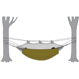 Under Blanket Camping Hammock
