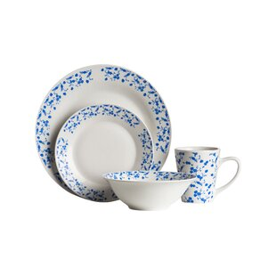 16 Piece Dinner Set in Blue Rose  sc 1 st  Wayfair & Mediterranean Dinner Set 16 | Wayfair.co.uk