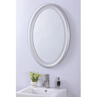Khang Oval PVC Frame Wall Mirror by Andover Mills