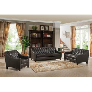 Canora Grey Charley 3 Piece Living Room Set