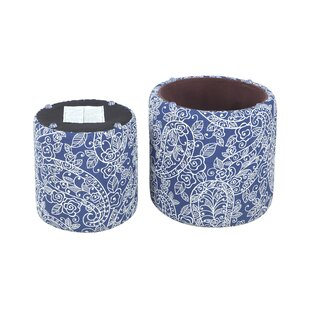 Burrill Pouf by Bungalow Rose