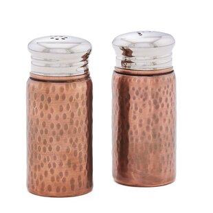 Hammered Salt and Pepper Shaker Set