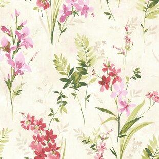 Large Print Floral Wallpaper Wayfair