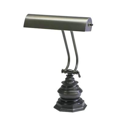 Charlton Home Joellen 14'' Piano Lamp Finish: Mahogany Bronze