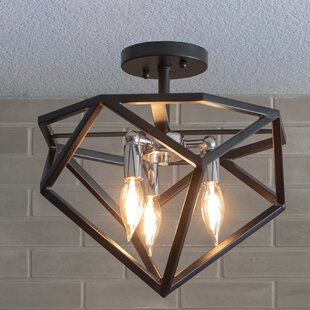 Willenhall 3-Light Semi Flush Mount by Williston Forge