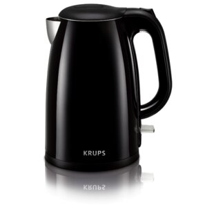 1.5 Qt. Cool Touch Stainless Steel Electric Tea Kettle by Krups Amazing