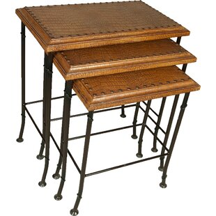 Croc 3 Piece Nesting Tables