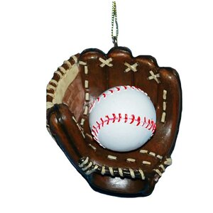 Resin Baseball Glove Ornament