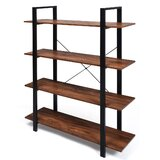 Zeeshan 55 H x 41.5 W Etagere Bookcase by 17 Stories