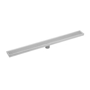 Soleil Stainless Steel Square Grate Linear 2