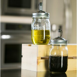 16 Oz Glass Oil Dispenser (Set of 2)