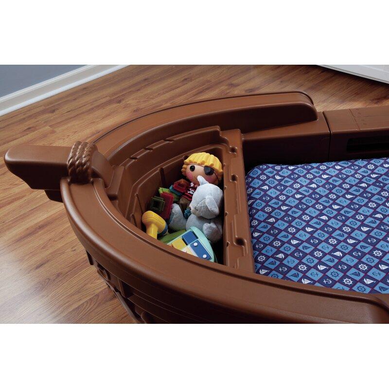 Little Tikes Pirate Ship Convertible Toddler Bed & Reviews | Wayfair