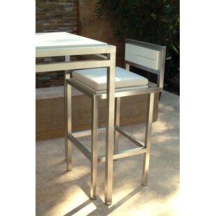 Talt 30 Patio Bar Stool With Cushion by Modern Outdoor