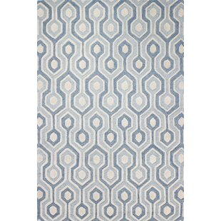 Chester Hand-Tufted Light Blue Area Rug by Langley Street