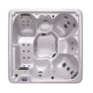 Cyanna Valley Spas 6-Person 31-Jet Spa with Dual Pump and Lounger