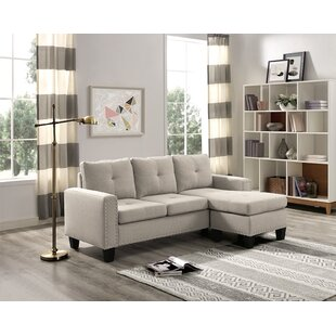 Steck Reversible Sectional by Ebern Designs Discount