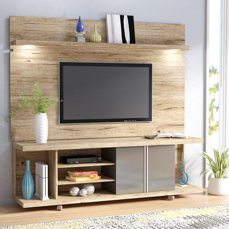 Wade Logan Lucca Entertainment Center Amp Reviews Wayfair