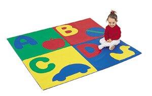 Comparison ABC Crawly Floor Mat ByChildren's Factory