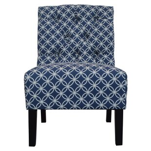 Glasper Contemporary Upholstered Armless Papasan Chair by Breakwater Bay