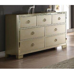 House of Hampton Lancelot 7 Drawer Dresser