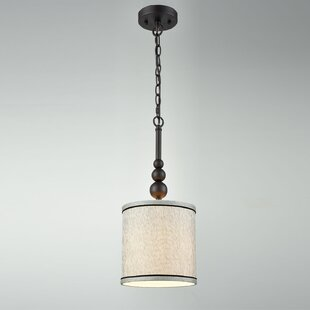 Gracie Oaks Mireille 1-Light Drum Pendant