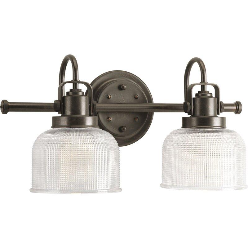 Beachcrest Home Gotha 3 Light Vanity Light Reviews: Gotha 2-Light Vanity Light & Reviews