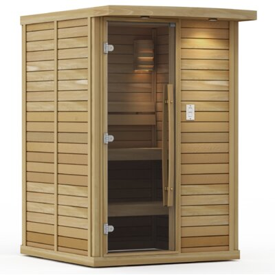Goldstar 2 Person Traditional Steam Sauna Premium Saunas