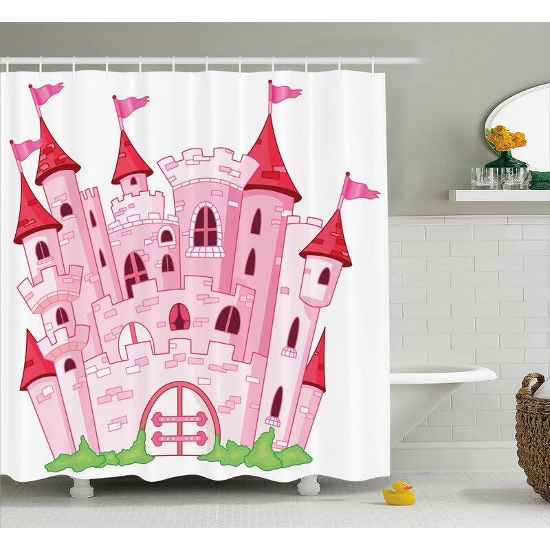 Lucy Princess Magic Kingdom Shower Curtain