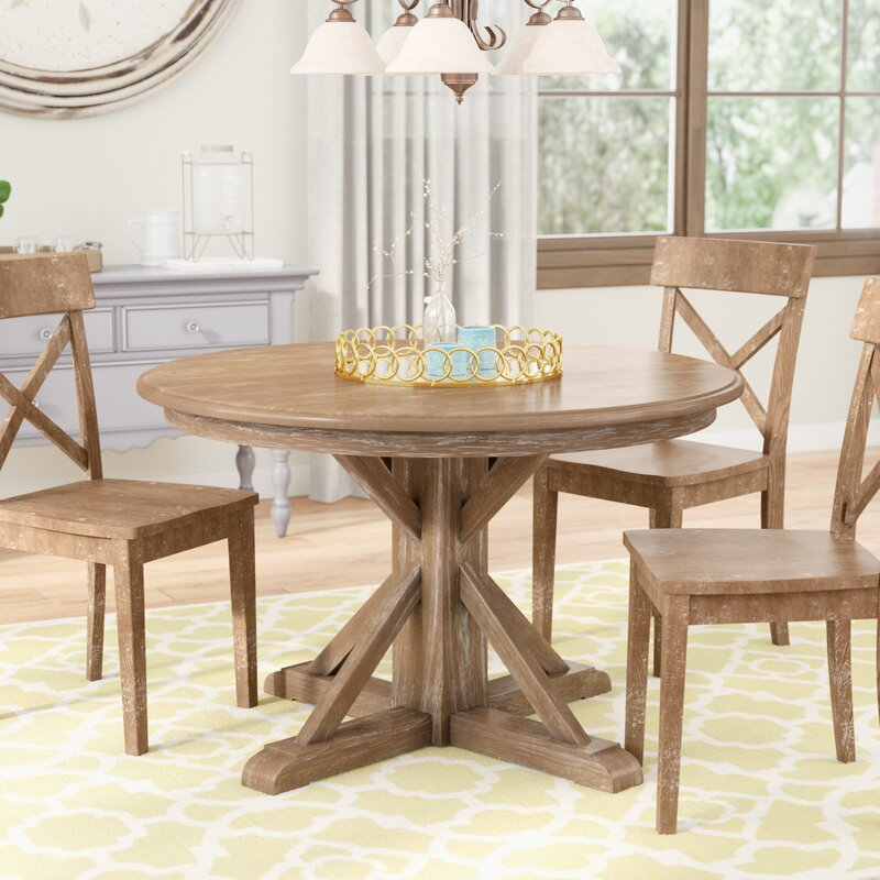 Round kitchen table with leaf Foldable Grimaud Round Dining Table Walmart Square To Round Dining Table Wayfair