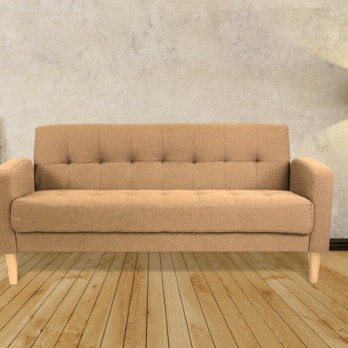 George Oliver Knowlton Mid Century Modern Sofa Wayfair Ca