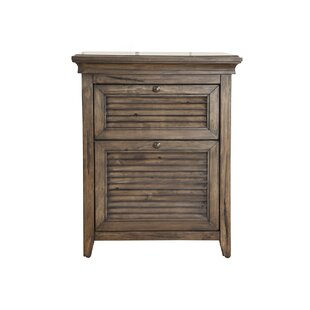 Alcott Hill Pomfret 2 Drawer Nightstand