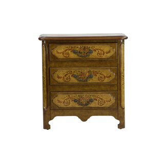 Cephas Hand Painted 3 Drawer A..
