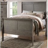 Henton Low Profile Sleigh Bed by Canora Grey